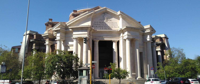 Basilica Sacro Cuore di Maria Piazza Euclide