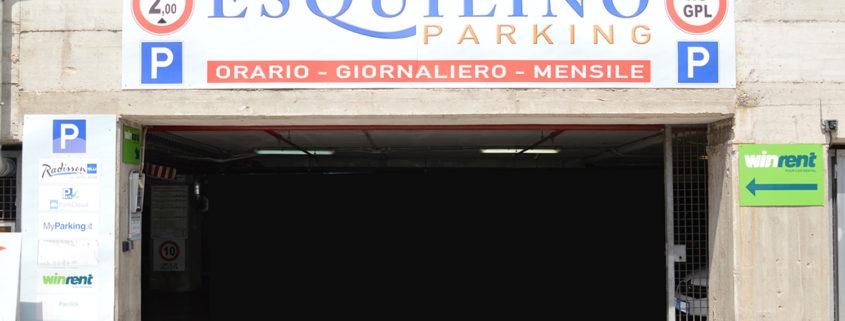parcheggio stazione termini -Esquilino parking