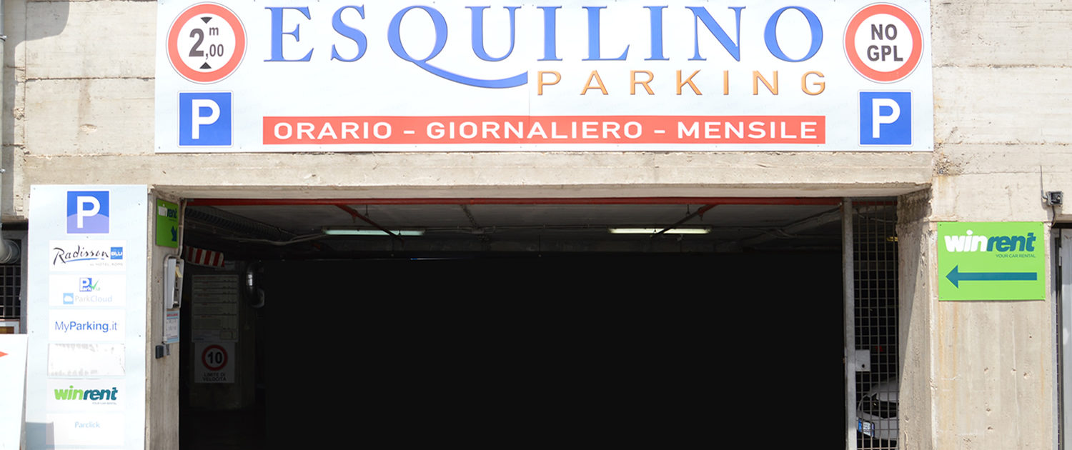 Parking At Rome Nearby Termini Station And Rome City Centre