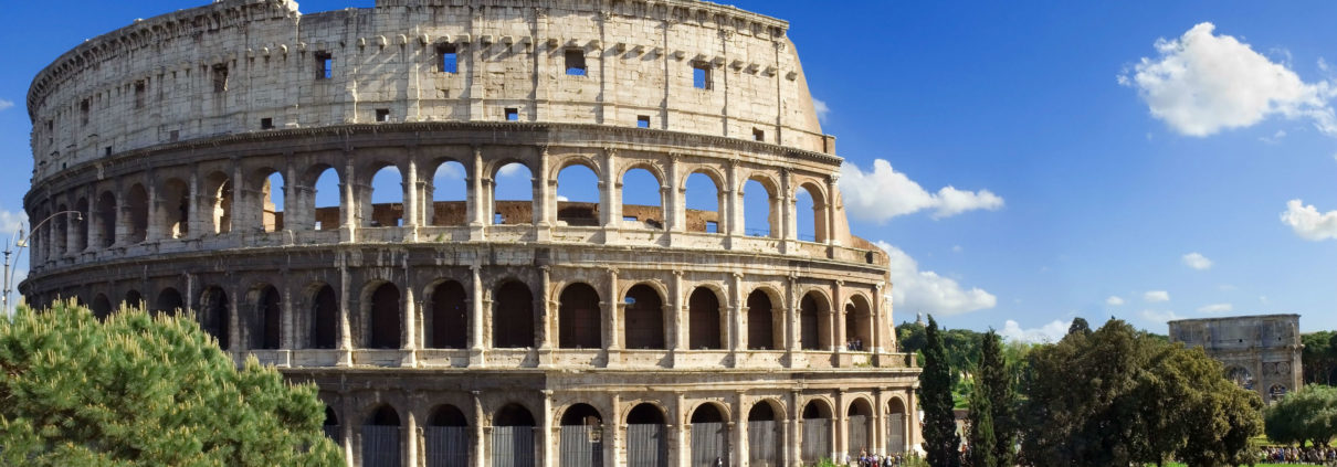 parking a Roma - il Colosseo